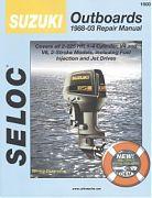 Seloc 1600 Suzuki Outboard Engines Shop Manual 1988-03