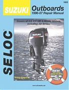 Seloc 1602 Suzuki Outboard Engines Shop Manual 1996-07