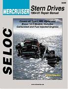 Seloc 3200 Mercruiser Sterndrive Engines Shop Manual 1964-91