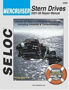 Seloc 3208 Mercruiser Sterndrive Engines Shop Manual 2001-08