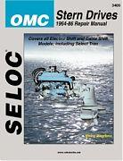 Seloc 3400 OMC Sterndrive Engines Shop Manual 1964-86