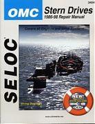 Seloc 3404 OMC Sterndrive Engines Shop Manual 1986-98