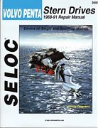Seloc 3600 Volvo/Penta Sterndrive Engines Shop Manual 1968-91