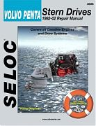 Seloc 3606 Volvo/Penta Sterndrive Engines Shop Manual 1992-02