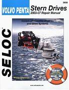 Seloc 3608 Volvo/Penta Sterndrive Engines Shop Manual 2003-07