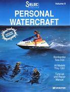 Seloc 9000 Sea-Doo PWC Shop Manual 1988-91