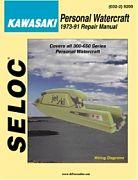 Seloc 9200 Kawasaki PWC Shop Manual 1973-91