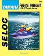 Seloc 9602 Yamaha PWC Shop Manual 1992-97