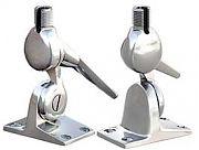 Shakespeare 5187 Stainless Steel Nutless 4WAY Ratchet Mnt