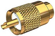 Shakespeare PL259 Gold Plated Connector F/RG58