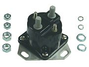 Sierra 18-5814D Solenoid - 12 Volt, Isolated Base - Display Pack