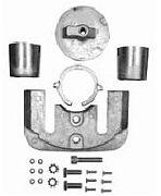 Sierra 18-6159A Anode Kit - Aluminum