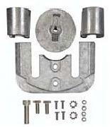Sierra 18-6160A Anode Kit - Aluminum