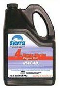 Sierra 18-94004 - 4 Stroke Marine Stern Drive Engine Oil - 25W-40 - 5 Quart