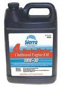 Sierra 18-94203 - 4 Stroke Marine Outboard Engine Oil - 10W-30 - 5 Quart