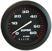 Sierra 57897P Amega 3´´ Tach/Hour, Elect, Outboard & 4-Cycle Gas 0-6000 RPM