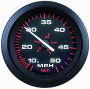Sierra 57898P Amega 3´´ Speedometer Kit, 50 mph, Includes G Sender