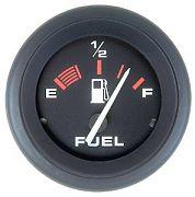 Sierra 57902P Amega  2´´ Fuel Gauge, E-1/2-F, Requires F Sender