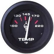 Sierra 58862P Amega 2´´ Outboard Water Temperature Kit, Cold-Hot, Includes J Sender