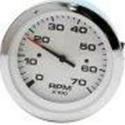 """Sierra 59737P Lido 3"""" Lido Series Fog Resistant Tach Meter"""
