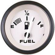 Sierra 61549P Driftwood 2´´ Fuel Gauge, E-1/2-F, Requires F Sender