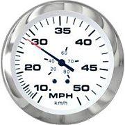 """Sierra 61752FP Lido 3"""" Lido Series Fog Resistant Speedometer Kit"""