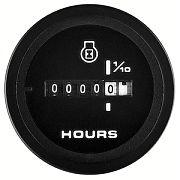 Sierra 62719P Premier Pro series Black 2´´ Hourmeter 10,000 hrs