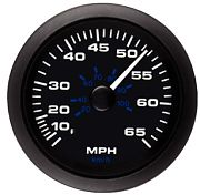 Sierra 62722P Premier Pro Series Black 3´´ Speedometer Kit 65MPH
