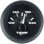 Sierra 62729P Premier Pro Series Black 2´´ Water Temperature, Stern Drive/Inboard