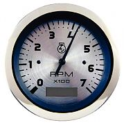 Sierra 63474P Sterling 3´´ Tach/LCD Hour, Elect, W/Holdoff, 0-7000 rpm