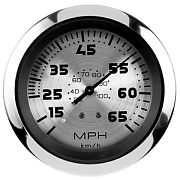 Sierra 63475P Sterling 3´´ Speedometer, Head Only, 65 mph, Includes G Sender