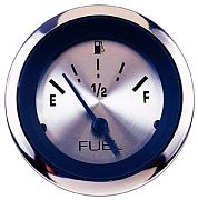 Sierra 63477P Sterling 2´´ Fuel Gauge, E-1/2-F, Requires F Sender