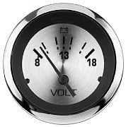 Sierra 63478P Sterling 2´´ Voltmeter, 8-18 V