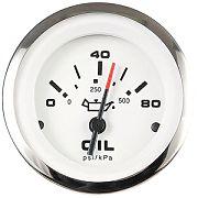 """Sierra 65501P Lido 2"""" Oil Pressure Gauge - 80 Psi"""