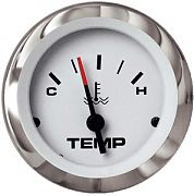 "Sierra 65508P Lido 2"" Outboard Water Temperature Gauge"