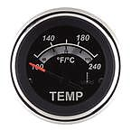 """Sierra 67020P Black Sterling 2"""" Water Temperature (Electric)"""