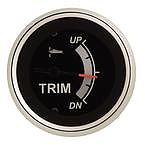 """Sierra 67365P Black Sterling 2"""" Trim: Evinrude/Johnson Suzuki 4-Stroke"""