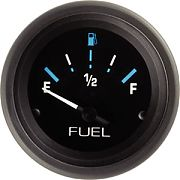 "Sierra 68390P Eclipse 2"" Fuel Gauge"
