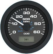 Sierra 781627060P Prem Pro Blk GPS Speedo 60MPH