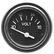Sierra 80134P Heavy Duty 2´´ Voltmeter 10-16 Volts