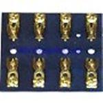 Sierra FS405101 4 Gang Glass Tube Fuse Block