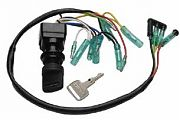 Sierra MP51040 2/4 Stroke Yamaha Outboard Ignition Switch - Push to Choke