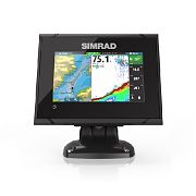 "Simrad GO5 XSE 5"" Fishfinder/Chartplotter with 83/200 kHz HDI Transom Mount Transducer"