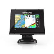 "Simrad GO5 XSE 5"" Fishfinder/Chartplotter with Totalscan Transom Mount Transducer"