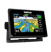 """Simrad GO7 XSE 7"""" Fishfinder/Chartplotter with Totalscan Transom Mount Transducer"""