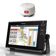 Simrad NSS12 EVO3 Radar Bundle with Insight & 4G Dome