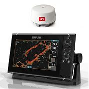 Simrad NSS9 EVO3 Radar Bundle with Insight Maps & 4G Dome