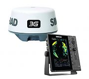 "Simrad R2009 9"" Radar with 3G Radar Dome"