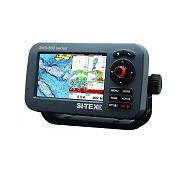 "Sitex SVS-560CF Chartplotter - 5"" Display with Internal GPS & Navionics+ Flexible Coverage"