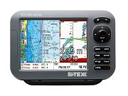 "Sitex SVS-880CF 8"" GPS Chartplotter Color Combo with External Antenna"
